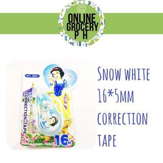 Character correction tape