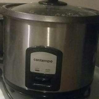 Big W Contempo Rice Cooker & Steamer 10 Cups