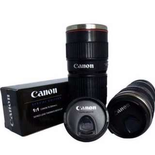 Canon Lens EF Thermal Travel Tumbler Flask 1:1 70-200mm (Black)