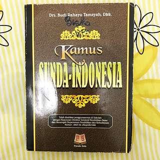 Kamus Sunda-Indonesia