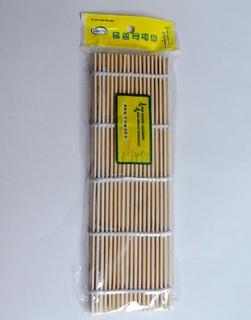 bamboo sushi mat / bambu penggulung kimbab nasi - hkn071