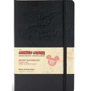 Moleskine Mickey Mouse Pocket Plain Limited Edition Notebook