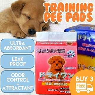 [In STOCK] Pee pad traing pad dog pee pad Dog Training Pee Pad Wee Pad Absorbant Pad Dog Pee Pad Pet Diaper Rabbit Urine Pad Pee Pads