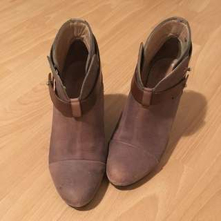 rag&bone distressed Harrow ankle boots sz35