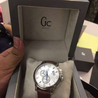 Guess Collection Leather Watch