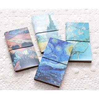 Van Gogh Painting design Multifunction Planner Notebook