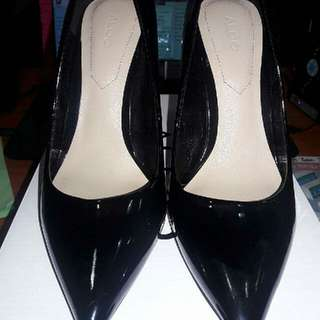 Aldo Pointed Black Shoes