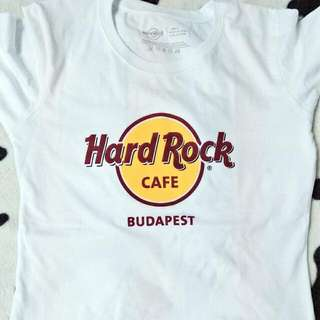 Hard Rock Cafe Budapest Tshirt