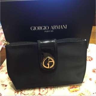 Giorgio Armani 高雅氣質化妝手拿包