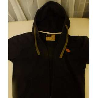 Jaket Hoodie 'Six Pax' Black Size M (no pull & bear, H&m, uniqlo)