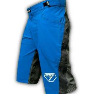 Seven7 Design Skylite Blue Grey MTB Short