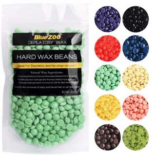 BlueZoo Depilatory Hard Wax Beans / Pearl Wax / Hair Removal Wax Beads