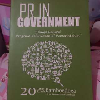 PR in Goverment