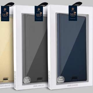 Sony Xz Premium 有蓋手機套(寶藍色)