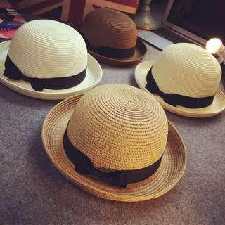 英倫式草帽