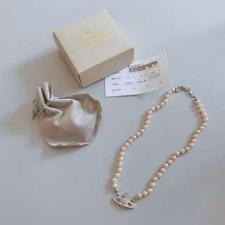 Vivienne Westwood 經典絕版款土星珍珠項鍊