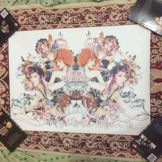 SNSD TTS TaeTiSeo Twinkle Poster