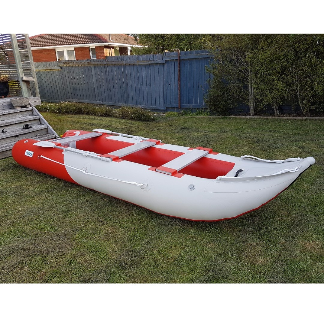 4.3m Inflatable boat inflatable kayak air floor