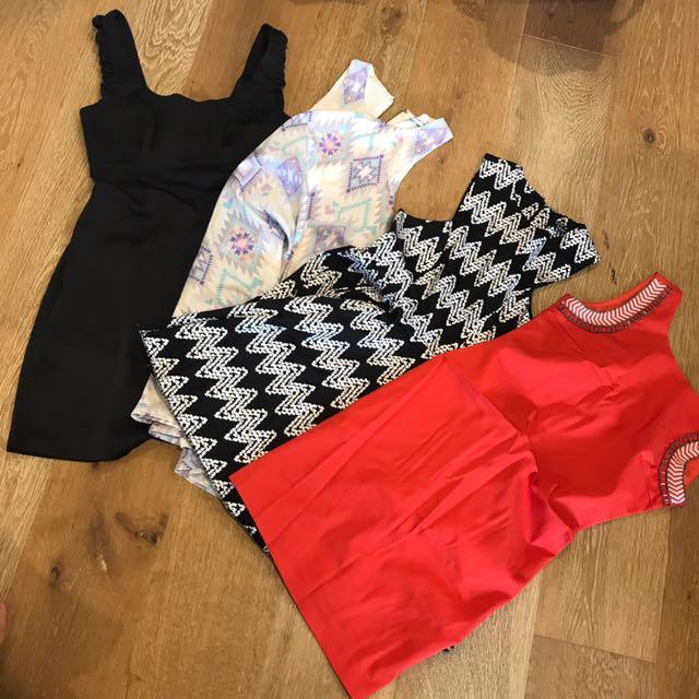 4 Mini Dresses Deal