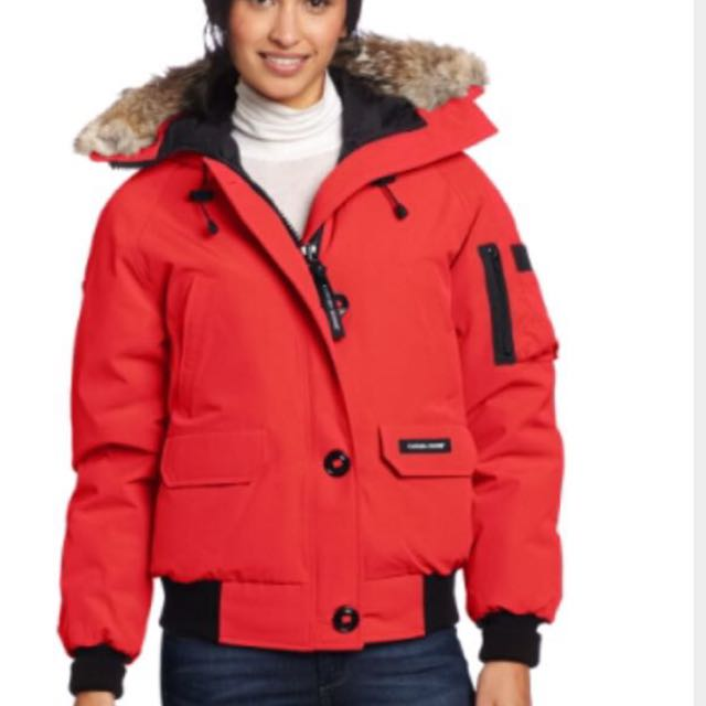 Canada Goose Women's Red Bomber