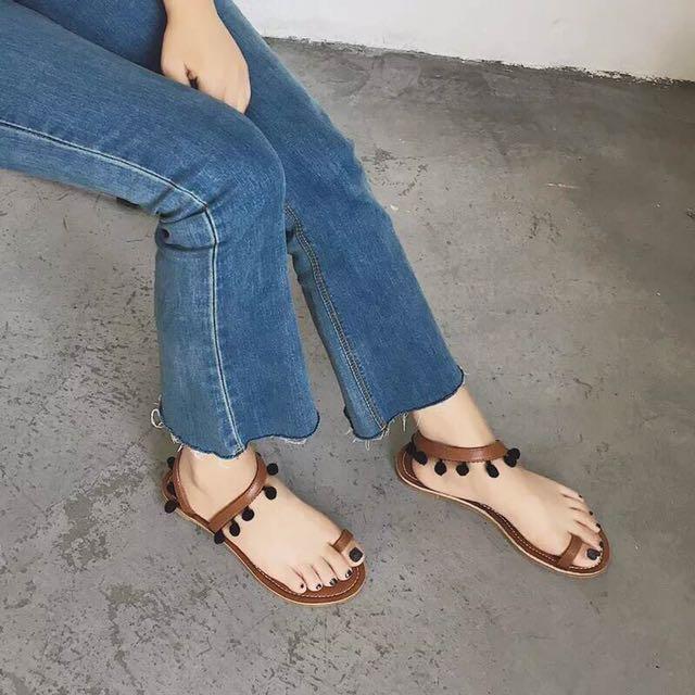 波希米亞涼鞋