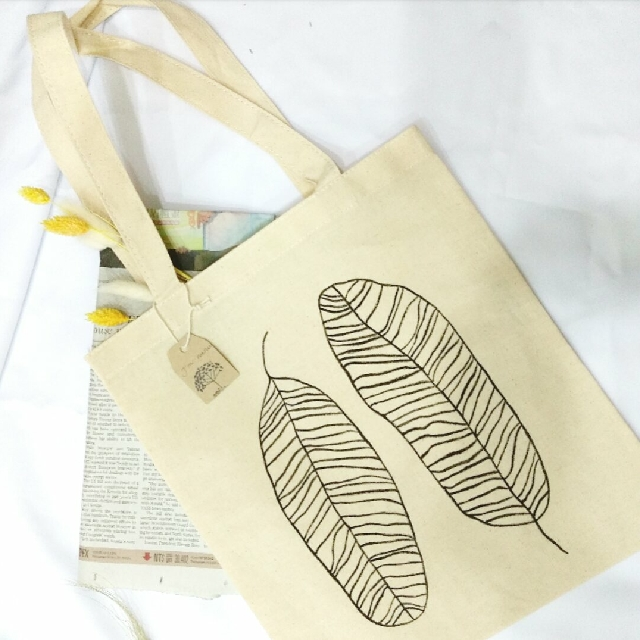 葉子帆布包