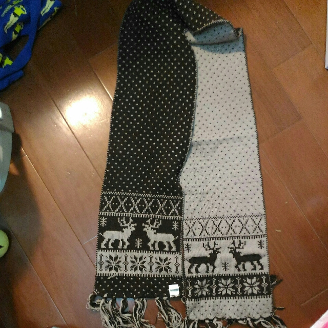 雙面圍圍巾