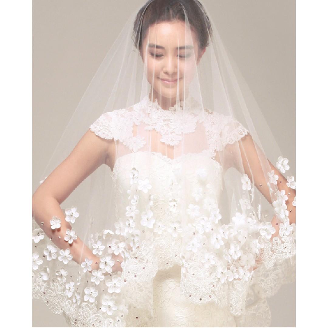 新娘 頭紗