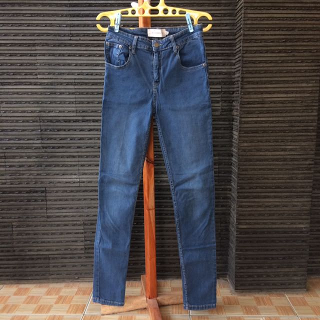 Accent Skinny Jeans