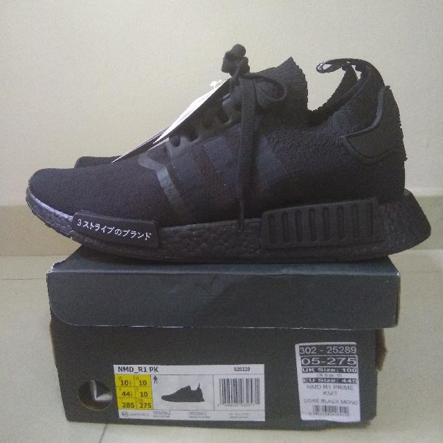 6c728b1f4 Adidas NMD R1 PK Japan Black Boost UK10