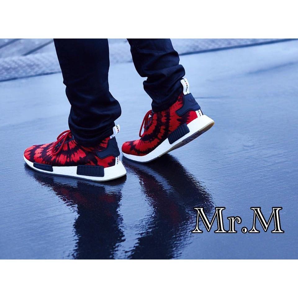 香港正品Adidas NMD R1 PK X Nice Kicks Boost 蜘蛛人 限量 聯名 黑紅 AQ4791