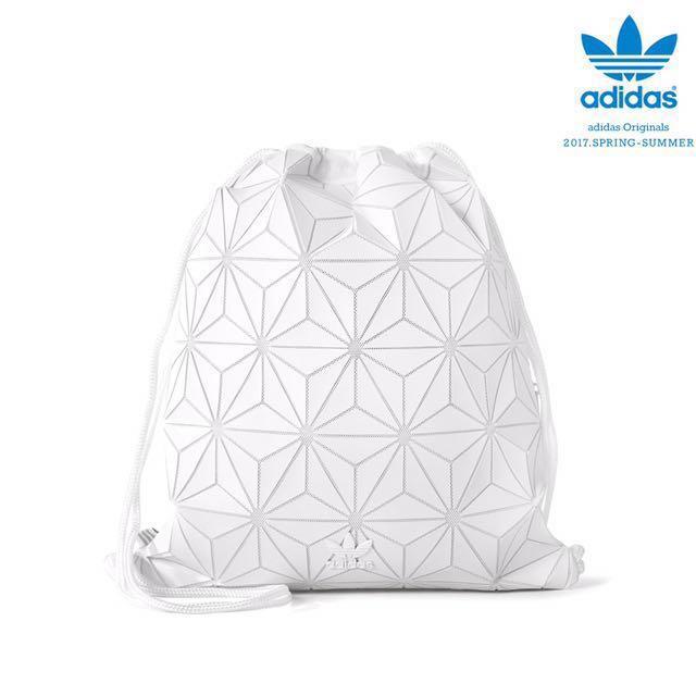 6fc5fe2a Adidas X Issey Miyake 3D White Gym Sack, Men's Fashion, Bags ...