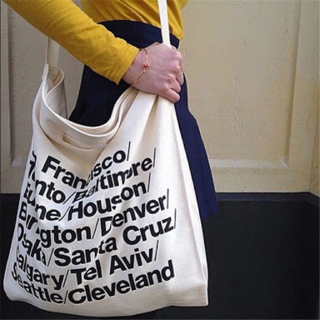 AMERICAN APPAREL CITIES TOTE
