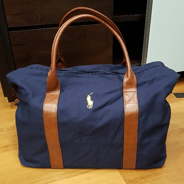 Authentic New Polo Ralph Lauren Duffle Bag Gym Travel Luggage