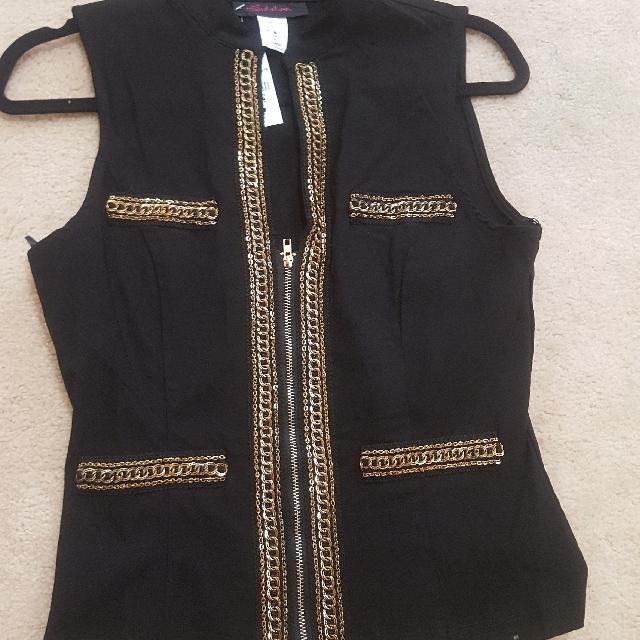 Black Jewel Vest