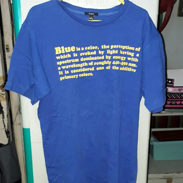 Blue Bossini Shirt