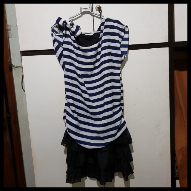 Blue Line Dress