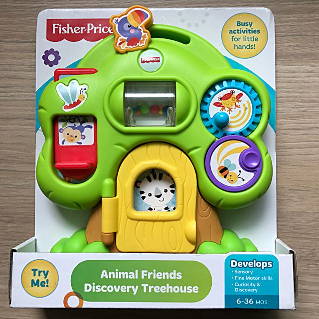 BNIB Fisher Price Animal Friends Discovery Treehouse