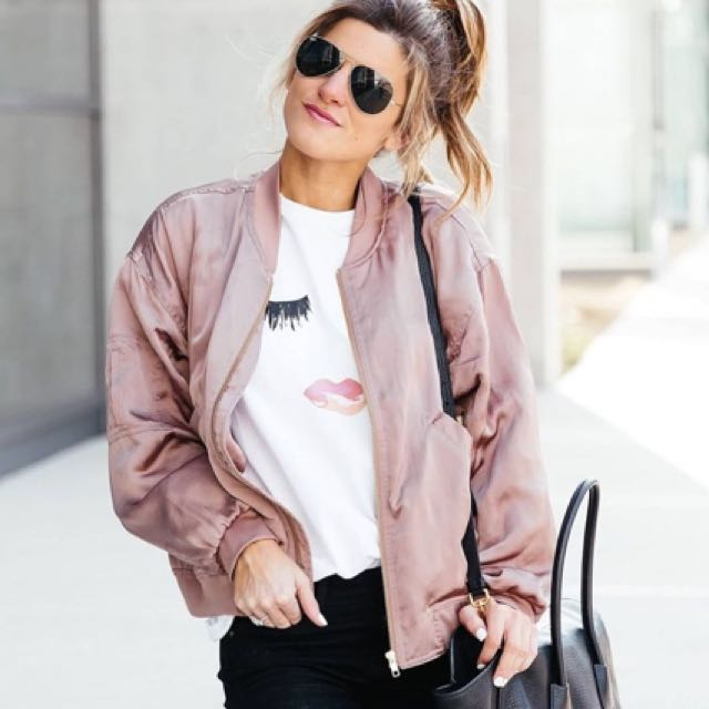BRAND NEW pink jacket from Jean machine