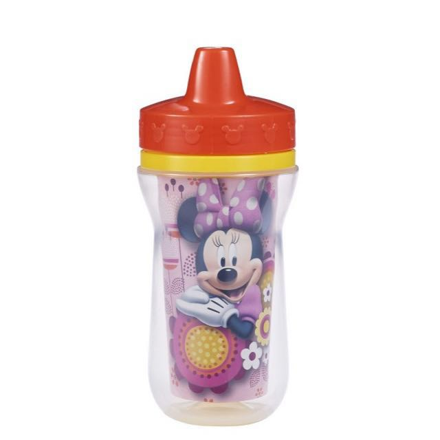 Brand new The First Years Minnie Mouse Hard Spout Insulated Sippy Cup