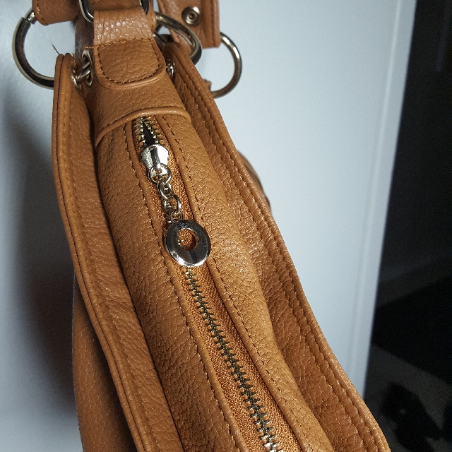 "Brown ""Leather"" Purse Crossbody Bag"