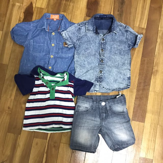 BUNDLE assorted Shirts + Shorts