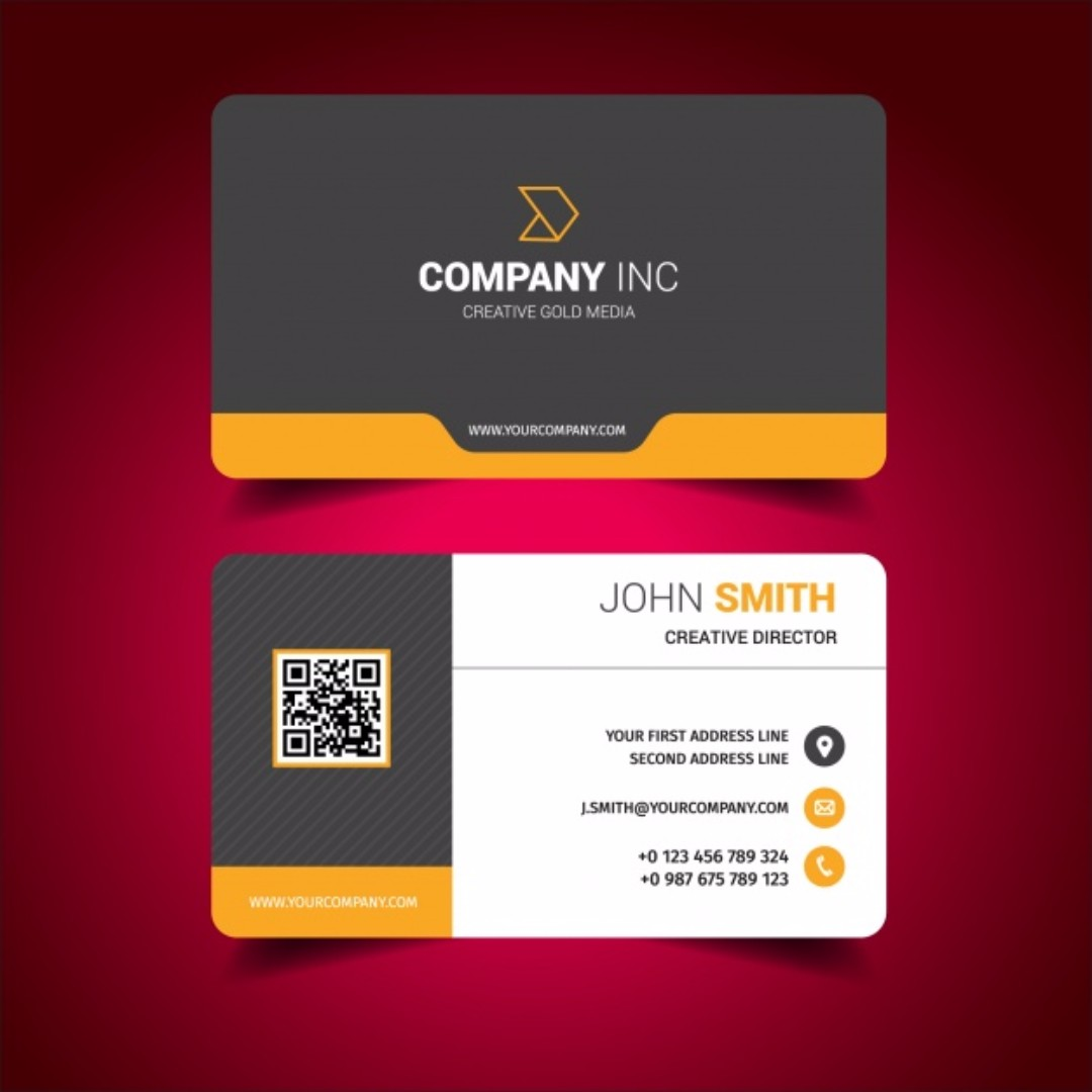 Business Card / Business / Namecard / Contact / Design Namecard ...