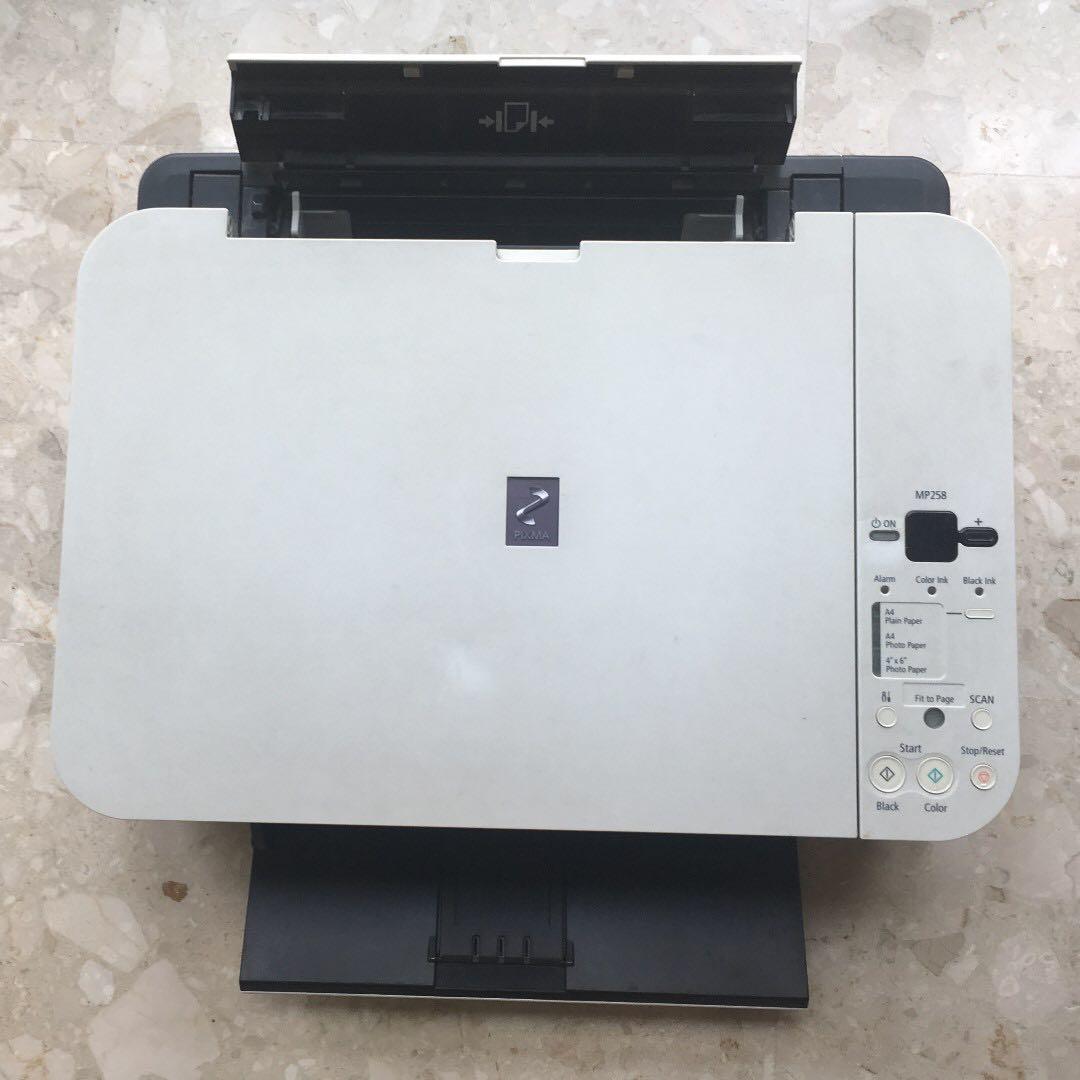 Canon PIXMA MP 258 Printer / Scanner / Copier, Electronics