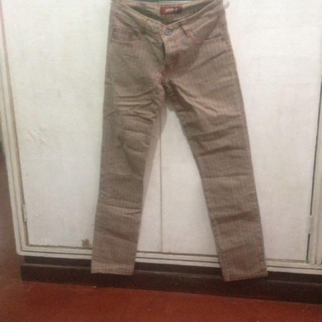 Casual Brown Pants Or Capri