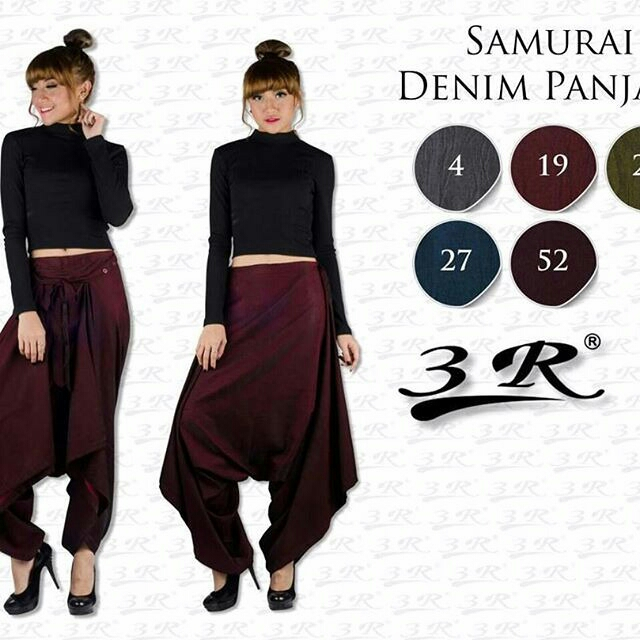 Celana Samurai Panjang