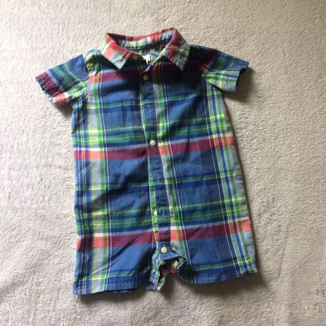 Champs Polo Romper