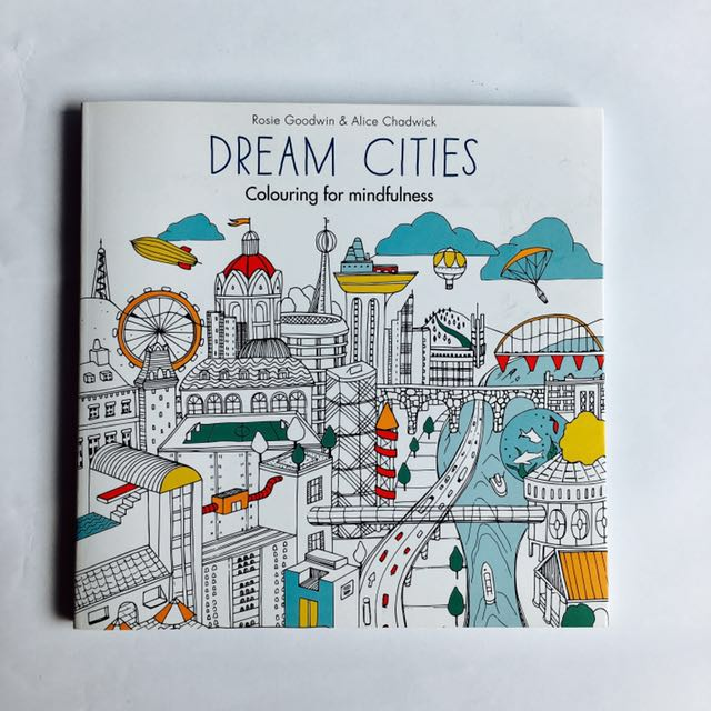 Coloring Book Dream Cities Books On Carousell
