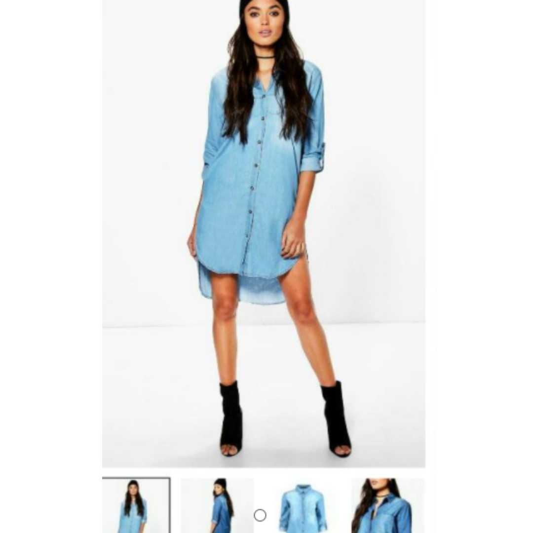 denim dress jacket size 6 / 8 small BNWT