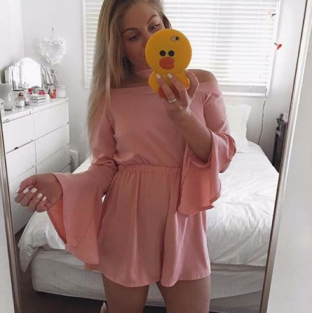 Dolly Girl Fashion Playsuit Size 10 (Only Worn For Photo)